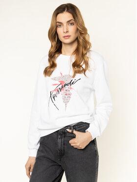 Trussardi Jeans Trussardi Jeans Džemperis 56F00092 Balta Regular Fit