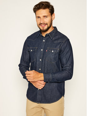 Levi's® Levi's® Риза Barstow Western Standard 85744-0000 Тъмносин Standard Fit