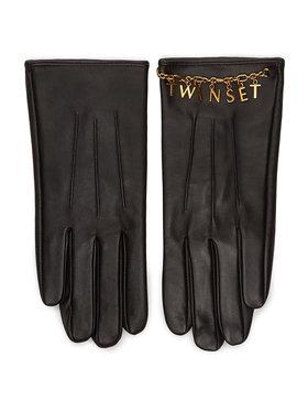 TwinSet TwinSet Gants femme 202TO5063 Noir