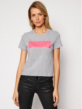 Guess Guess T-shirt Andria Tee W1RI05 JA900 Siva Regular Fit