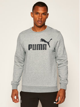 Puma Puma Mikina Ess Logo Crew Sweat Fl Big Logo 851747 Sivá Regular Fit