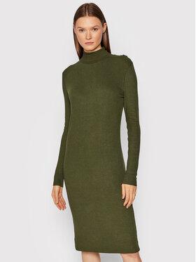 G-Star Raw G-Star Raw Плетена рокля Rib Mock D20452-C862-6059 Зелен Slim Fit