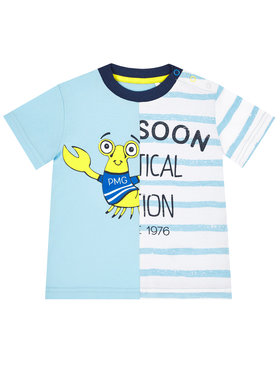 Primigi Primigi T-Shirt Sea Friends 45221041 Μπλε Regular Fit