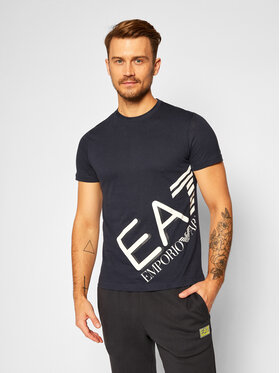 EA7 Emporio Armani EA7 Emporio Armani T-Shirt 6HPT07 PJA2Z 1554 Tmavomodrá Regular Fit