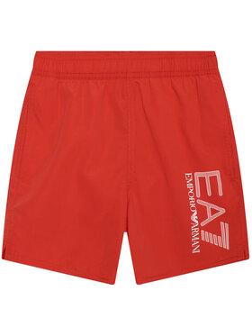 EA7 Emporio Armani EA7 Emporio Armani Plaukimo šortai 906005 1P771 00074 Raudona Regular Fit