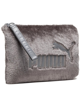 Puma Puma Umhängetasche Wns Fur Pouch 075112 02 Grau