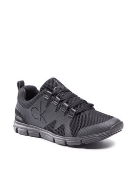 Calvin Klein Jeans Calvin Klein Jeans Сникърси Runner Sneaker Laceup Scly YM0YM00086 Черен