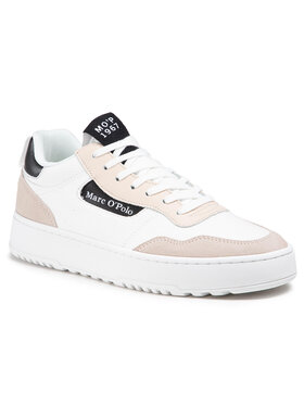 Marc O'Polo Marc O'Polo Sneakersy 102 26133503 606 Bílá