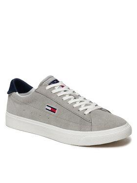 Tommy Jeans Tommy Jeans Sneakersy Retro Vulc Tjm Suede EM0EM00845 Sivá