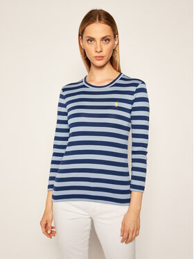 Polo Ralph Lauren Polo Ralph Lauren Bluză Knt 211802799001 Albastru Slim Fit