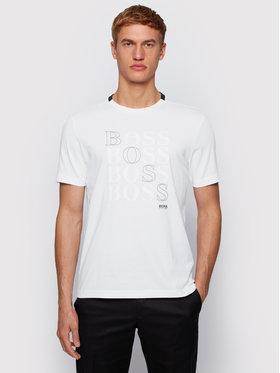 Boss Boss T-shirt Teeonic 50447948 Bijela Regular Fit