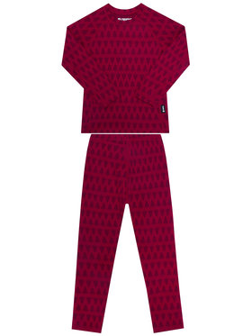 Reima Reima Set di biancheria intima termica Taival 536434 Rosa Slim Fit