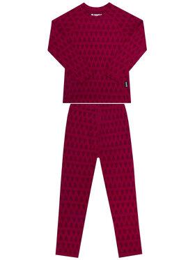Reima Reima Σετ εσώρουχα θερμικά Taival 536434 Ροζ Slim Fit