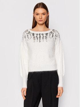 Liu Jo Liu Jo Sweater CF1170 MA97L Fehér Regular Fit