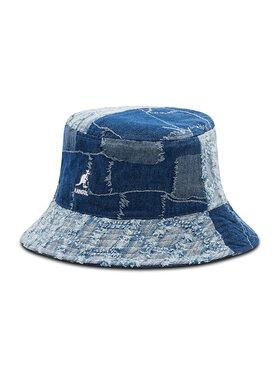 Kangol Kangol Текстилна шапка Denim Mashup Bucket K5296 Тъмносин