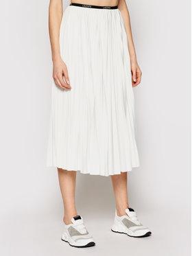Lacoste Lacoste Spódnica plisowana JF5455 Biały Regular Fit