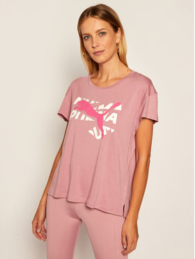 Puma Puma T-shirt Modern Sports Graphic Tee 583536 Rosa Relaxed Fit