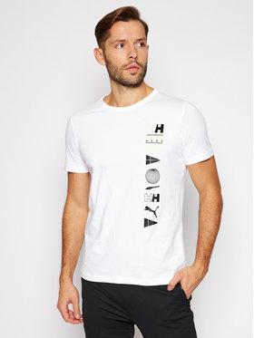Puma Puma Marškinėliai Puma X Helly Hansen 598285 Balta Regular Fit