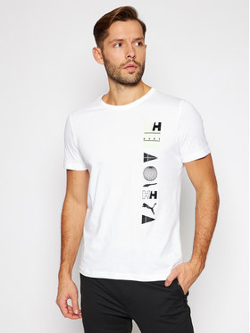 Puma Puma T-Shirt Puma X Helly Hansen 598285 Biały Regular Fit