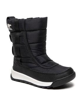 Sorel Sorel Cizme de zăpadă Childrens Whitney™ II Puffy Mid Wp NC3873 Negru