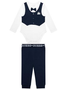 Guess Guess Komplektas: smėlinukai ir kelnės P1RG14 J1311 Tamsiai mėlyna Regular Fit