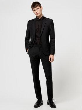 Hugo Hugo Costum Arti/Hesten204X 50440762 Negru Extra Slim Fit