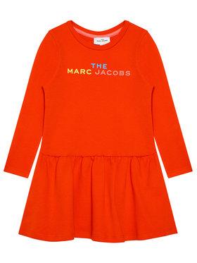 Little Marc Jacobs Little Marc Jacobs Každodenní šaty W12380 S Červená Regular Fit