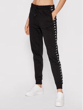 Kappa Kappa Pantalon jogging Jante 310027 Noir Slim Fit