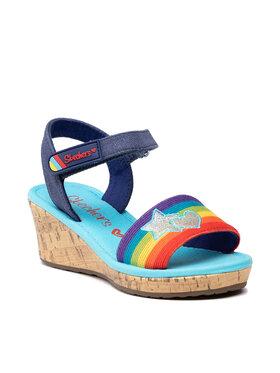 Skechers Skechers Sandales Toe-Tally Sweet 302122L/BLMT Bleu marine