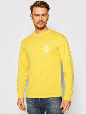 Vans Vans Marškinėliai ilgomis rankovėmis Supply VN0A4TUT Geltona Classic Fit