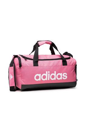 adidas adidas Сумка Linear Duffel S H35660 Рожевий