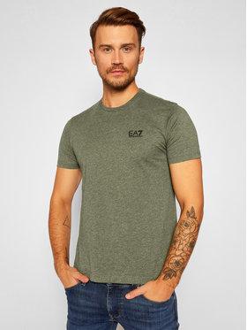 EA7 Emporio Armani EA7 Emporio Armani T-Shirt 8NPT51 PJM9Z 3802 Grün Regular Fit