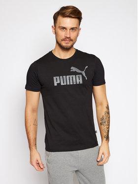Puma Puma T-Shirt Essentials Logo Tee 582046 Czarny Regular Fit