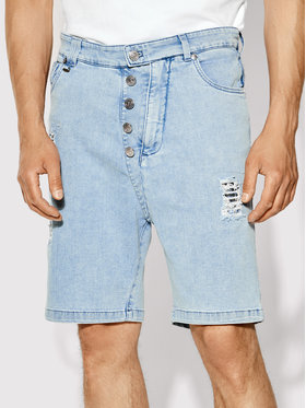 Rage Age Rage Age Pantaloncini di jeans Orian 2 Blu Slim Fit