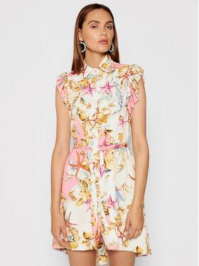 Rinascimento Rinascimento Sukienka letnia CFC0017933002 Różowy Regular Fit