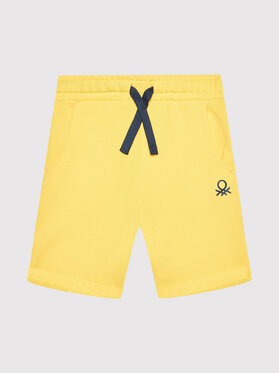 United Colors Of Benetton United Colors Of Benetton Sportshorts 3J68I0638 Gelb Regular Fit
