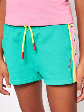 Little Marc Jacobs Little Marc Jacobs Sportske kratke hlače W14267 S Zelena Regular Fit