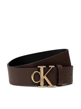 Calvin Klein Calvin Klein Ceinture homme Mono Hardware Round Belt 35mm K50K507065 Marron