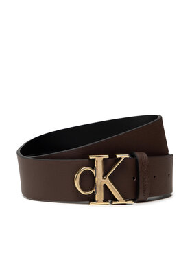 Calvin Klein Calvin Klein Herrengürtel Mono Hardware Round Belt 35mm K50K507065 Braun