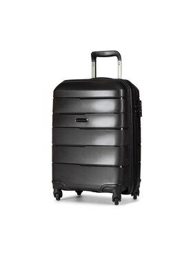 Puccini Puccini Kis kemény borítású bőrönd Bahamas PP016C Fekete