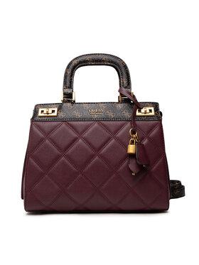 Guess Guess Дамска чанта Katey HWQB78 70280 Бордо