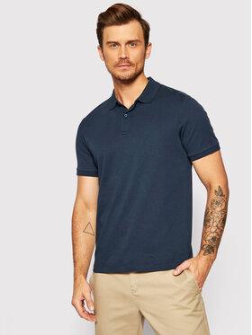 Selected Homme Selected Homme Тениска с яка и копчета Paris 16072841 Тъмносин Regular Fit