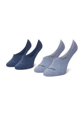 Calvin Klein Calvin Klein Zestaw 2 par stopek damskich 100001902 Niebieski