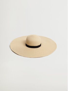 Mango Mango Pălărie Pamela 87006707 Bej