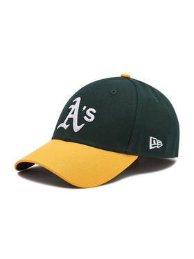 New Era New Era Шапка с козирка Oakland Athletics 9Forty 10047540 Зелен