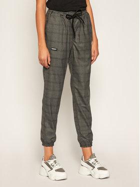 Diamante Wear Diamante Wear Medžiaginės kelnės Jogger Classic Pilka Slim Fit