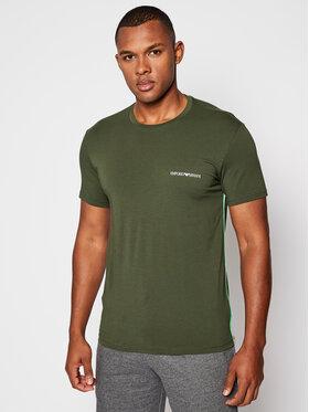 Emporio Armani Underwear Emporio Armani Underwear T-Shirt 110853 0A510 07581 Zielony Regular Fit