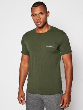 Emporio Armani Underwear Emporio Armani Underwear Тишърт 110853 0A510 07581 Зелен Regular Fit