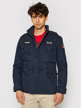 Polo Ralph Lauren Polo Ralph Lauren Átmeneti kabát Hb Combat 710722923004 Sötétkék Regular Fit