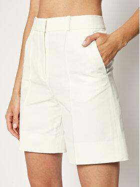 Victoria Victoria Beckham Victoria Victoria Beckham Medžiaginiai šortai Double Cloth 2220WSR001360A Balta Regular Fit